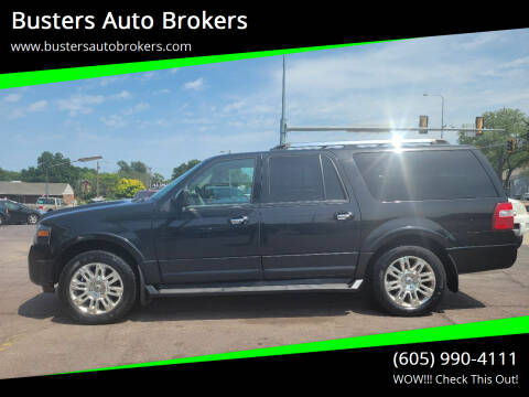 2011 Ford Expedition EL for sale at Busters Auto Brokers in Mitchell SD