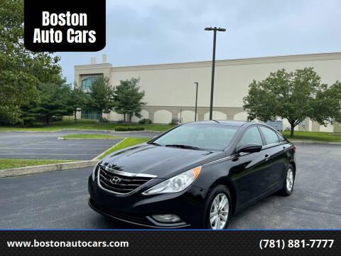 2013 Hyundai Sonata for sale at Boston Auto Cars in Dedham MA