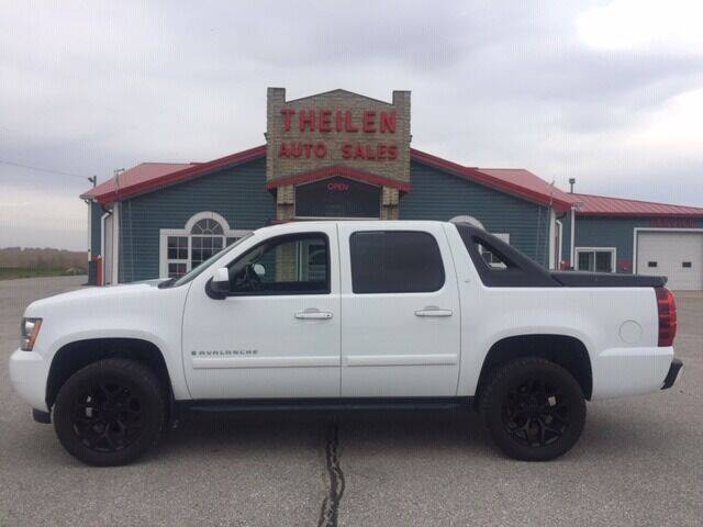 2007 Chevrolet Avalanche for sale at THEILEN AUTO SALES in Clear Lake IA