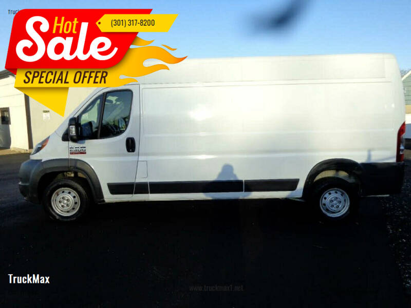 2018 RAM ProMaster Cargo for sale at TruckMax in Laurel MD
