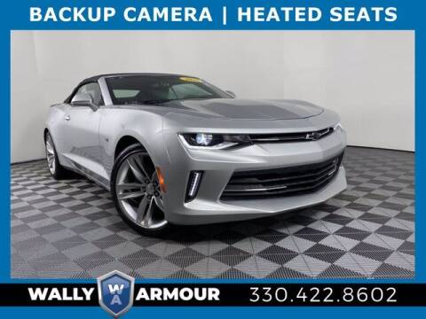 2016 Chevrolet Camaro for sale at Wally Armour Chrysler Dodge Jeep Ram in Alliance OH
