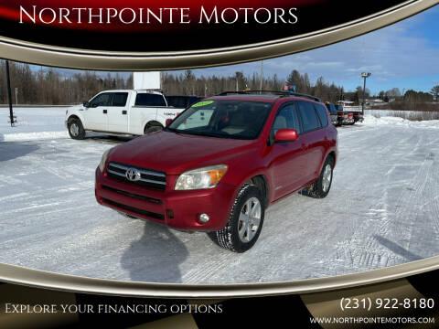 2007 Toyota RAV4 for sale at Northpointe Motors in Kalkaska MI