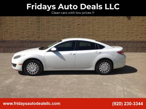 2011 Mazda MAZDA6 for sale at Fridays Auto Deals LLC in Oshkosh WI