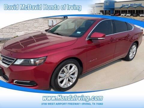 2019 Chevrolet Impala for sale at DAVID McDAVID HONDA OF IRVING in Irving TX