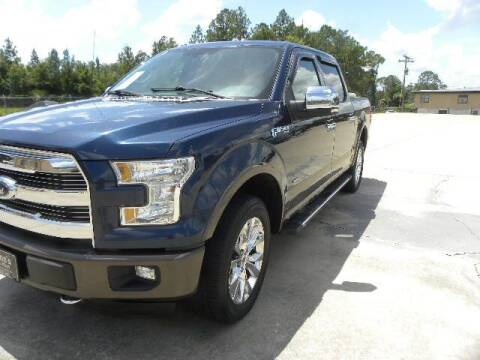 2015 Ford F-150 for sale at VANN'S AUTO MART in Jesup GA