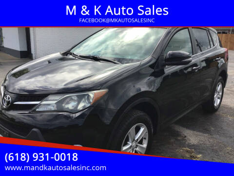 2013 Toyota RAV4 for sale at M & K Auto Sales in Granite City IL