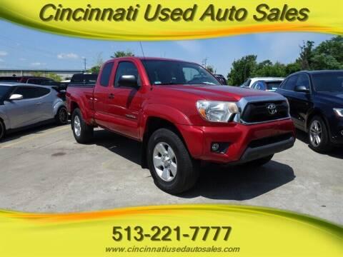 2012 Toyota Tacoma for sale at Cincinnati Used Auto Sales in Cincinnati OH