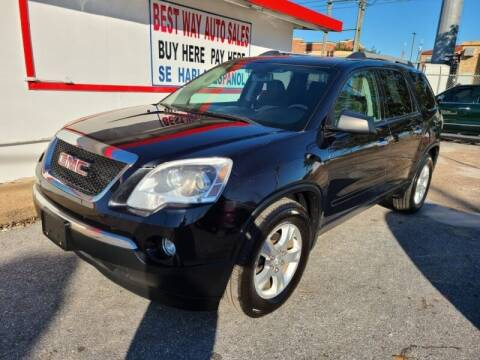 2012 GMC Acadia for sale at Best Way Auto Sales II in Houston TX