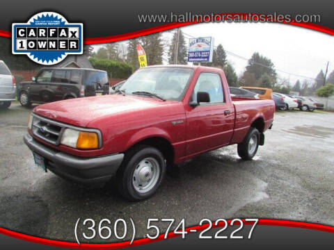 1997 Ford Ranger for sale at Hall Motors LLC in Vancouver WA