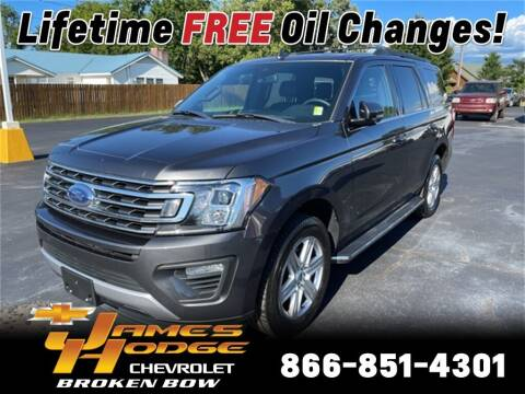 2018 Ford Expedition for sale at James Hodge Chevrolet of Broken Bow in Broken Bow OK