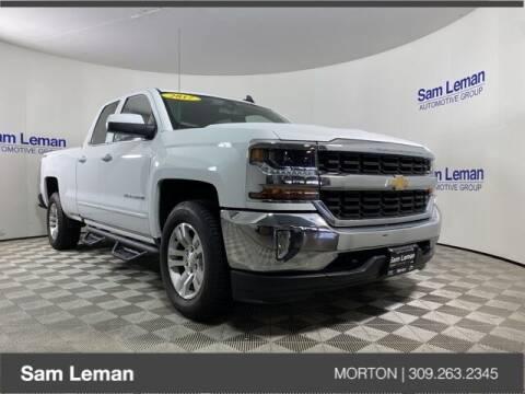 2017 Chevrolet Silverado 1500 for sale at Sam Leman CDJRF Morton in Morton IL