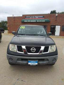 2006 Nissan Frontier for sale at Arak Auto Brokers in Kankakee IL