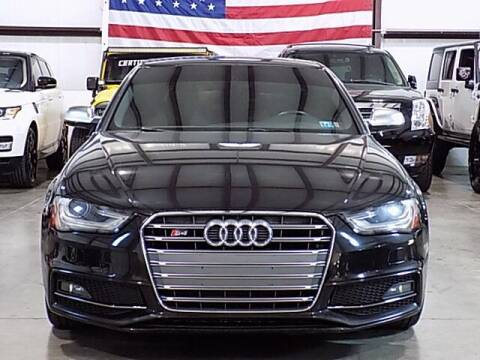 2014 Audi S4 for sale at Texas Motor Sport in Houston TX