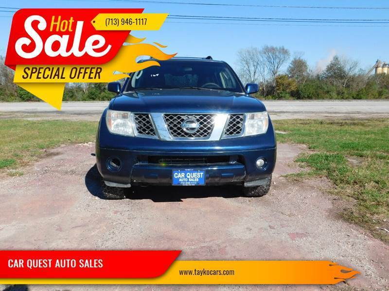 2007 Nissan Pathfinder for sale at CAR QUEST AUTO SALES in Houston TX