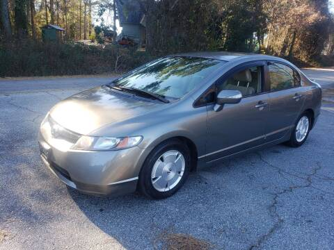 2006 Honda Civic for sale at GA Auto IMPORTS  LLC in Buford GA