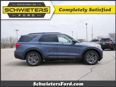 2021 Ford Explorer for sale at Schwieters Ford of Montevideo in Montevideo MN