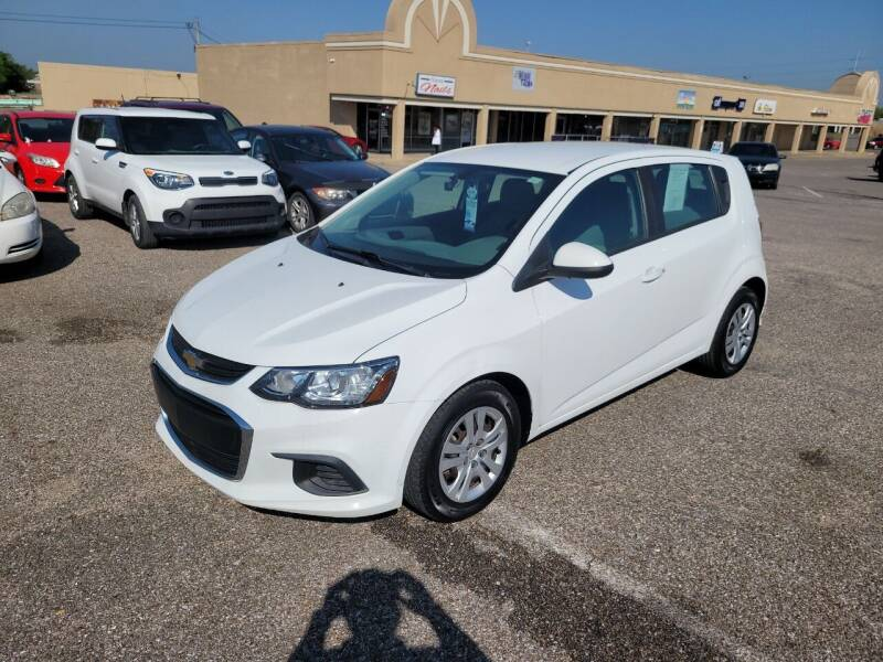2017 Chevrolet Sonic for sale at 2nd Chance Auto Sales in Montgomery AL
