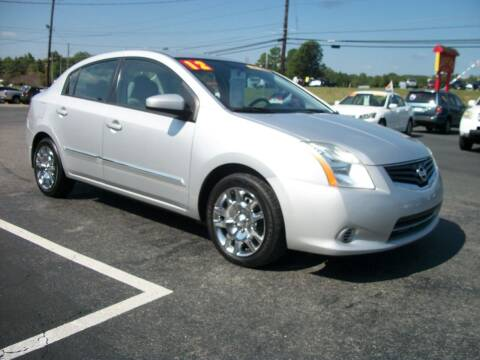 2012 Nissan Sentra for sale at Lentz's Auto Sales in Albemarle NC