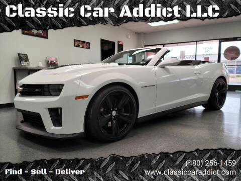 2013 Chevrolet Camaro for sale at Classic Car Addict in Mesa AZ