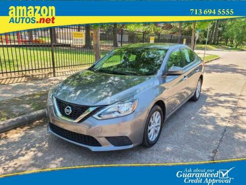 2017 Nissan Sentra for sale at Amazon Autos in Houston TX