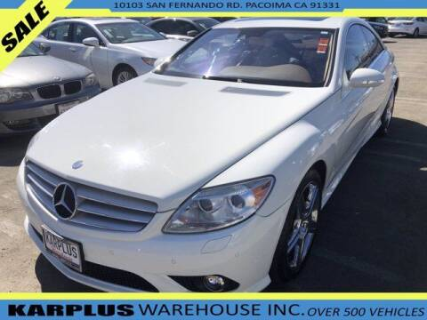 2009 Mercedes-Benz CL-Class for sale at Karplus Warehouse in Pacoima CA