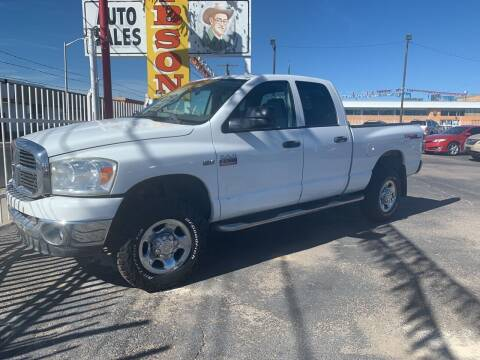 2009 Dodge Ram Pickup 2500 for sale at Robert B Gibson Auto Sales INC in Albuquerque NM