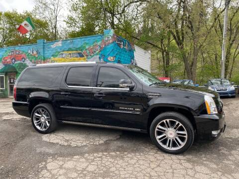 2013 Cadillac Escalade ESV for sale at Showcase Motors in Pittsburgh PA