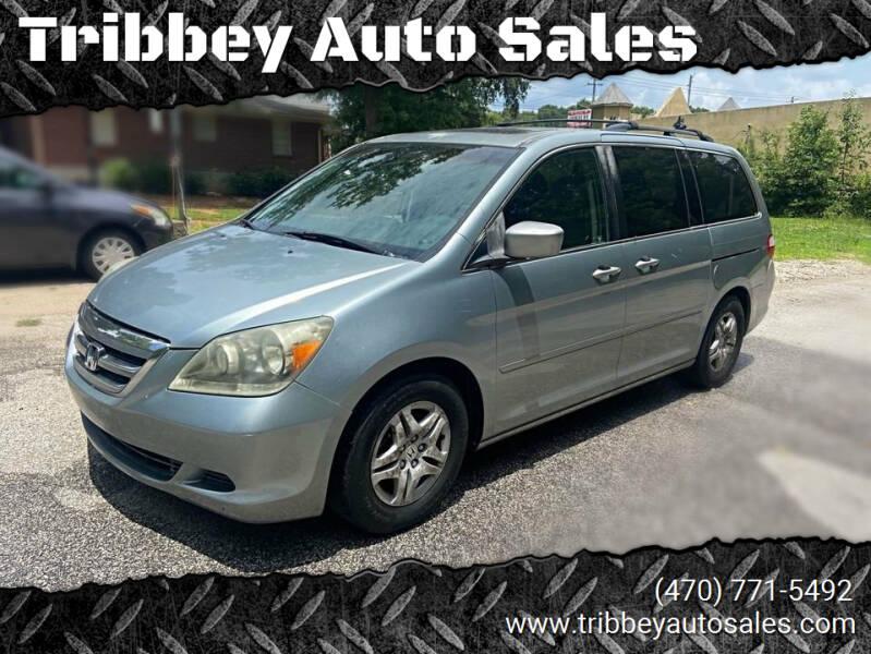 2007 Honda Odyssey for sale at Tribbey Auto Sales in Stockbridge GA