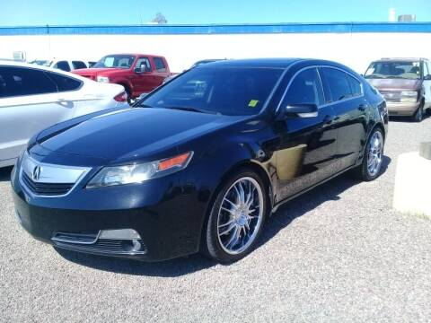 2012 Acura TL for sale at 1ST AUTO & MARINE in Apache Junction AZ