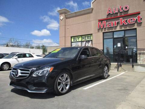 2016 Mercedes-Benz E-Class for sale at Auto Market in Oklahoma City OK