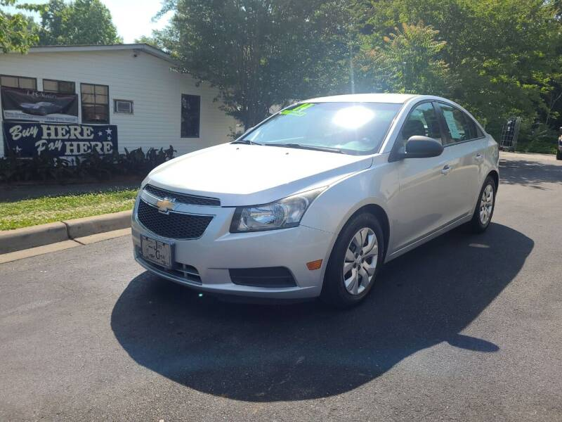 2014 Chevrolet Cruze for sale at TR MOTORS in Gastonia NC