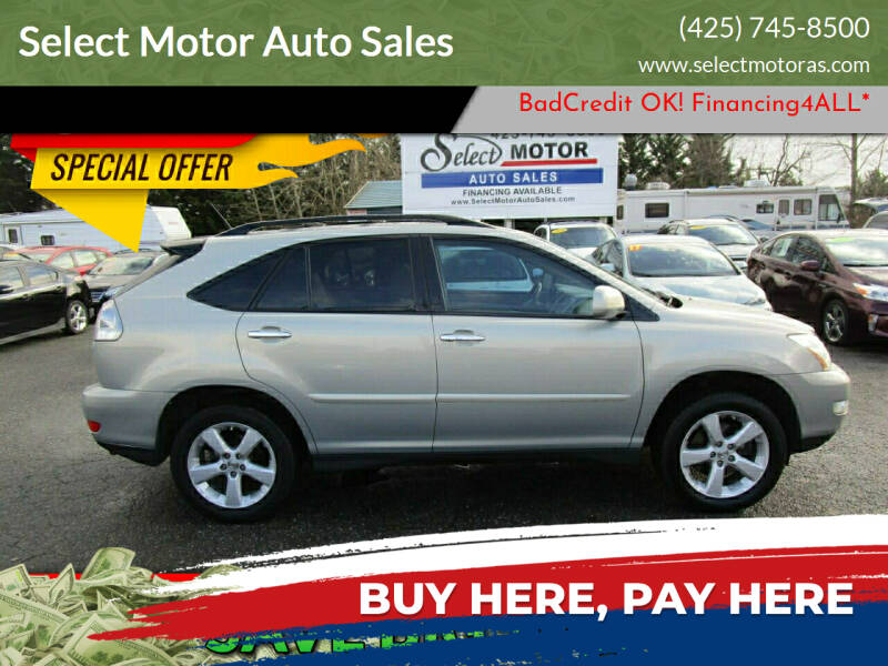 2008 Lexus RX 350 for sale at Select Motor Auto Sales in Lynnwood WA