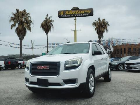 2016 GMC Acadia for sale at A MOTORS SALES AND FINANCE in San Antonio TX