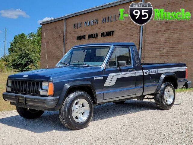 1990 Jeep Comanche for sale at I-95 Muscle in Hope Mills NC