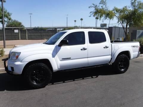 2015 Toyota Tacoma for sale at J & E Auto Sales in Phoenix AZ