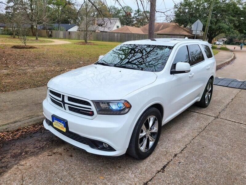2014 Dodge Durango for sale at Amazon Autos in Houston TX