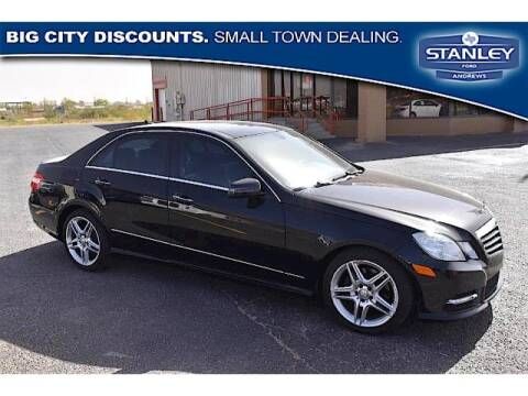 2013 Mercedes-Benz E-Class for sale at STANLEY FORD ANDREWS in Andrews TX