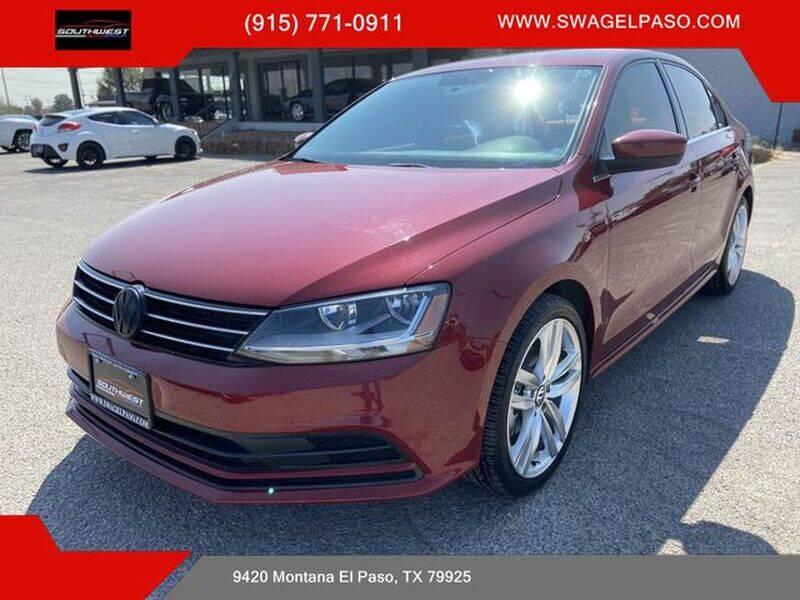 2017 Volkswagen Jetta for sale at SOUTHWEST AUTO GROUP-EL PASO in El Paso TX
