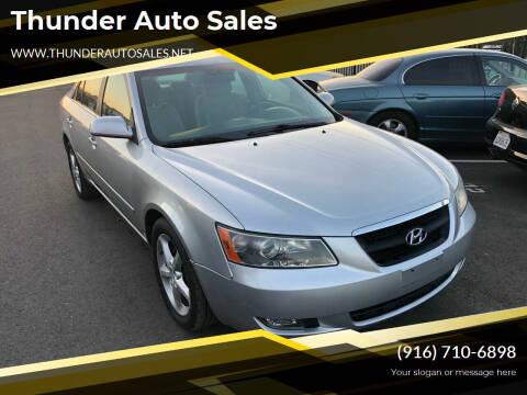 2007 Hyundai Sonata for sale at Thunder Auto Sales in Sacramento CA