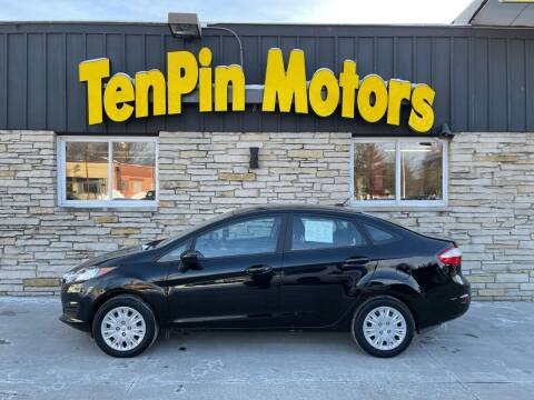 2017 Ford Fiesta for sale at TenPin Motors LLC in Fort Atkinson WI