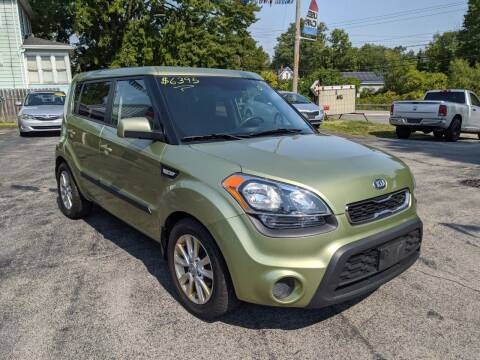 2013 Kia Soul for sale at Peter Kay Auto Sales in Alden NY
