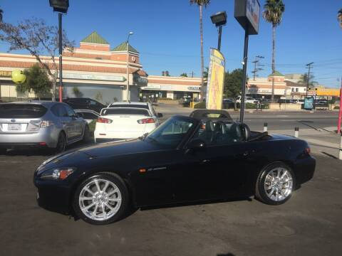 2007 Honda S2000 for sale at Pacific West Imports in Los Angeles CA