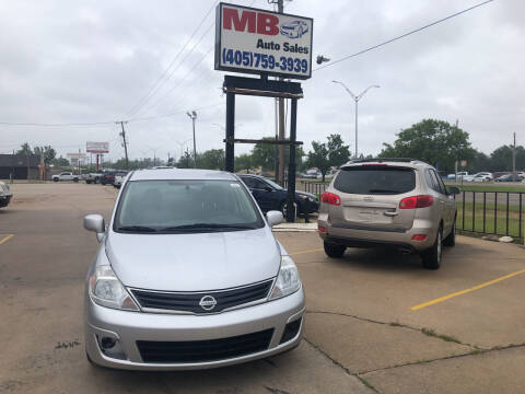 2010 Nissan Versa for sale at MB Auto Sales in Oklahoma City OK