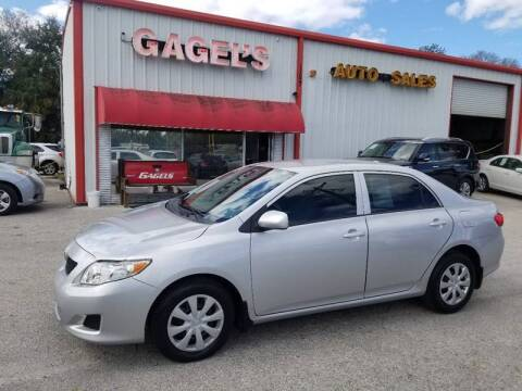 2010 Toyota Corolla for sale at Gagel's Auto Sales in Gibsonton FL