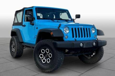 2017 Jeep Wrangler for sale at CU Carfinders in Norcross GA