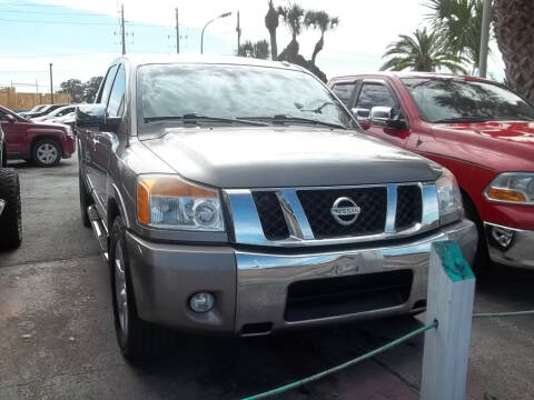 2008 Nissan Titan for sale at PJ's Auto World Inc in Clearwater FL