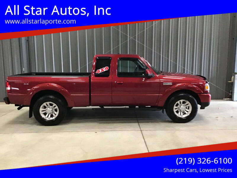 2011 Ford Ranger for sale at All Star Autos, Inc in La Porte IN