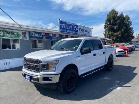 2018 Ford F-150 for sale at AutoDeals in Hayward CA