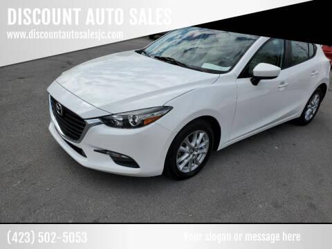 2017 Mazda MAZDA3 for sale at DISCOUNT AUTO SALES in Johnson City TN