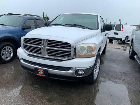 2006 Dodge Ram Pickup 1500 for sale at MILLENIUM MOTOR SALES, INC. in Rosenberg TX